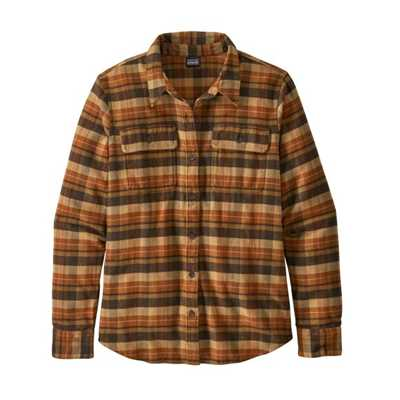 Camicie - Birch White - Donna - Ws Long-Sleeved Fjord Flannel Shirt  Patagonia