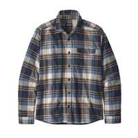 Camicie - Buttes neo navy - Uomo - Ms LW Fjord Flannel Shirt  Patagonia