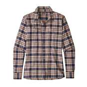 Camicie - Helper Small: Classic Navy - Donna - Camicia Ws LS Catbells Shirt  Patagonia