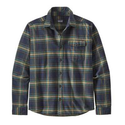 Camicie - New navy - Uomo - Ms Lightweight Fjord Flannel Shirt  Patagonia