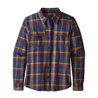Camicie - Rebel: Arrow Red - Donna - Ws Long-Sleeved Fjord Flannel Shirt  Patagonia