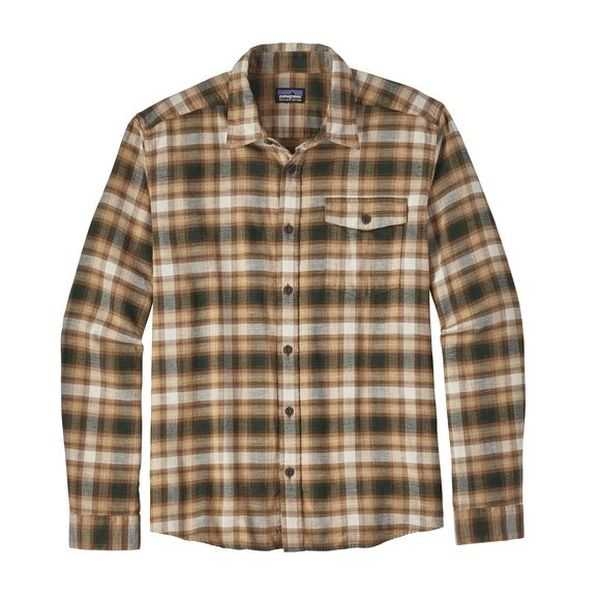 Camicie - Revival: Bear Brown - Uomo - Ms LW Fjord Flannel Shirt  Patagonia