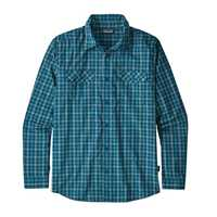 Camicie - Summit: Big Sur Blue - Uomo - Camicia Ms LS High Moss Shirt  Patagonia
