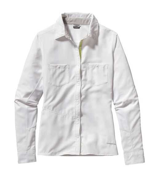 Camicie - White - Donna - Womens Long-Sleeved Sol Patrol® Shirt Patagonia