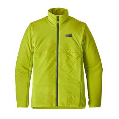 Giacche - Light Gecko Green - Uomo - Ms Nano-Air Light Hybrid Jkt Patagonia