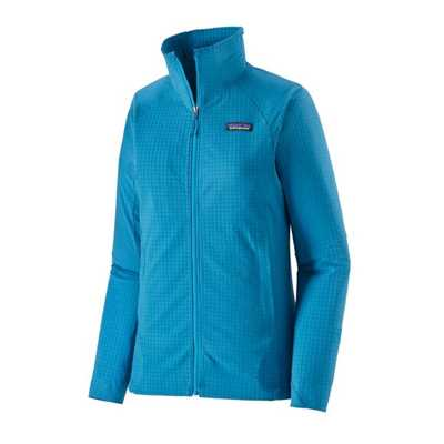 Giacche - Steller blue - Donna - Giacca Donna Ws R1 TechFace Hoody  Patagonia