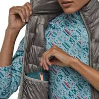 Gilet - Feather Grey - Donna - Ws Micr puff Vest  Patagonia