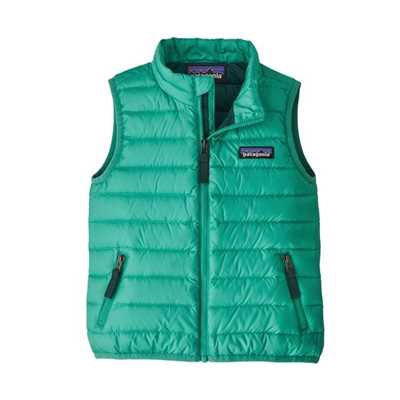 Gilet - Plains green - Bambino - Baby Down Sweater Vest  Patagonia
