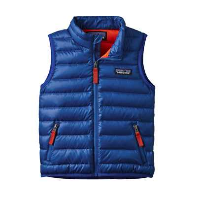 Gilet - Viking Blue - Bambino - Baby Down Sweater Vest Patagonia