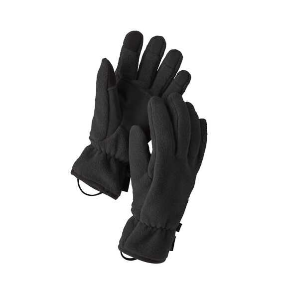 Guanti - Black - Unisex - Synchilla Gloves Revised  Patagonia