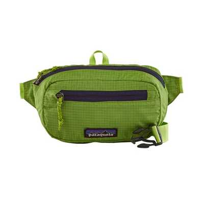 Marsupi - Peppergrass Green - Unisex - UL Black Hole Mini Hip Pack Revised Patagonia