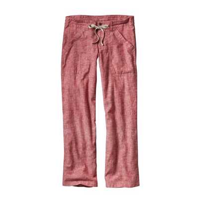 Pantaloni - Chambray:Classic Red - Donna - Womens Island Hemp Pants - Regular Patagonia