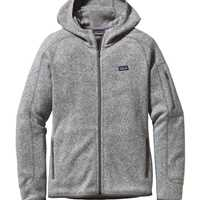 Pile - Birch White - Donna - Womens Better Sweater Full-Zip Hoody  Patagonia