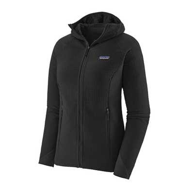 Pile - Black - Donna - Pile tecnico Donna Ws R2 TechFace Hoody  Patagonia