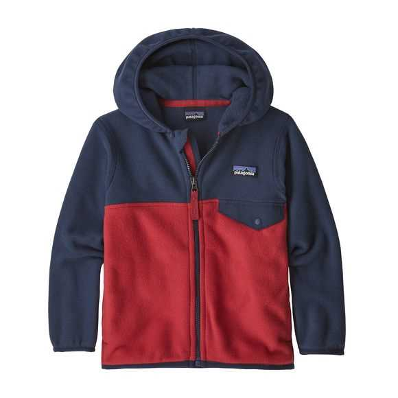 Pile - Fire w - Bambino - baby micro d snap-t jkt  Patagonia