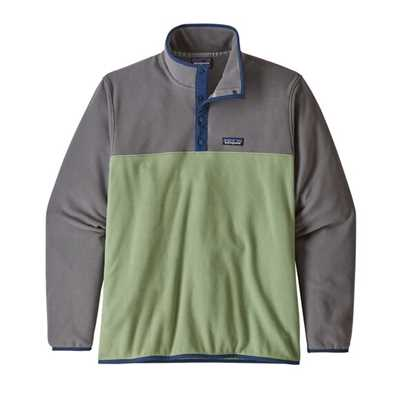 Pile - Matcha green - Uomo - Ms Micro D Snap-T Pullover Patagonia
