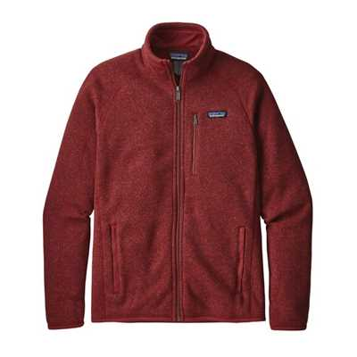 Pile - Oxide Red - Uomo - Ms Better Sweater Jacket Patagonia