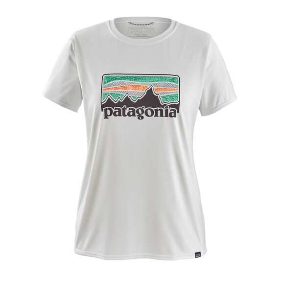 T-Shirt - Solar rays 73 white - Donna - Ws Cap Cool DailyGraphic Shirt Patagonia