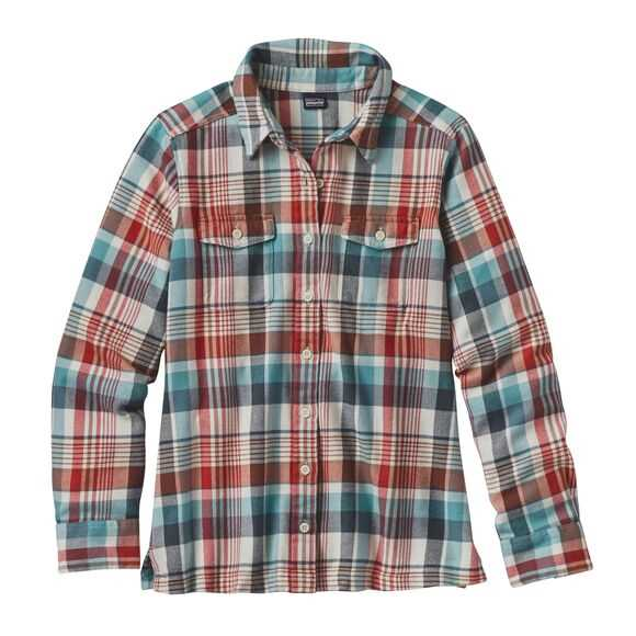 w's long-sleeved fjord flannel shirt Patagonia